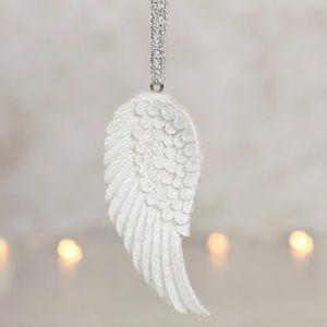 Angel Wings Christmas Ornaments